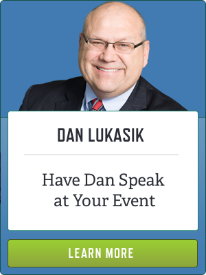 Have Dan Lukasik Speak at your Event