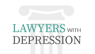 Lawyers With Depression Logo