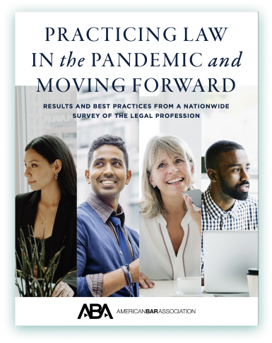 Practicing law in the pandemic and moving forward cover